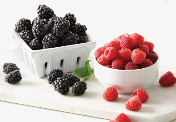 Blackberries or Raspberries