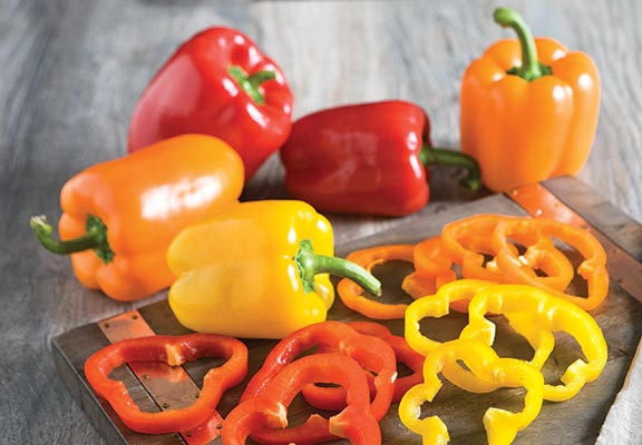 Orange, Red or Yellow Bell Peppers