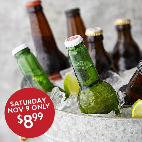 Create Your Own 6 Pack for $8.99 Sat Nov 9 Only!