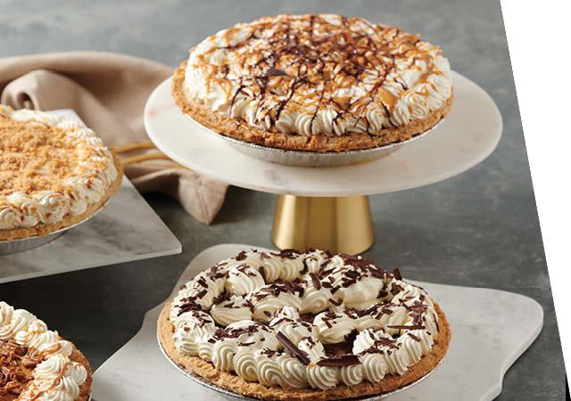NEW Cream Pies