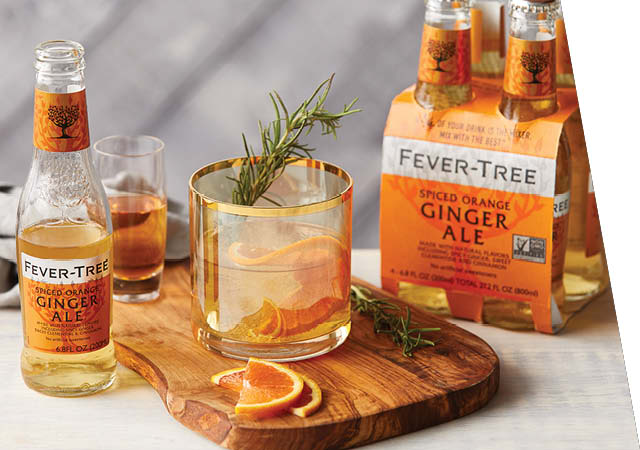 Fever-Tree Spiced Orange Ginger Ale Mixers