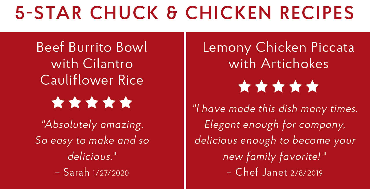 5-Star Chuck & Chicken Recipes