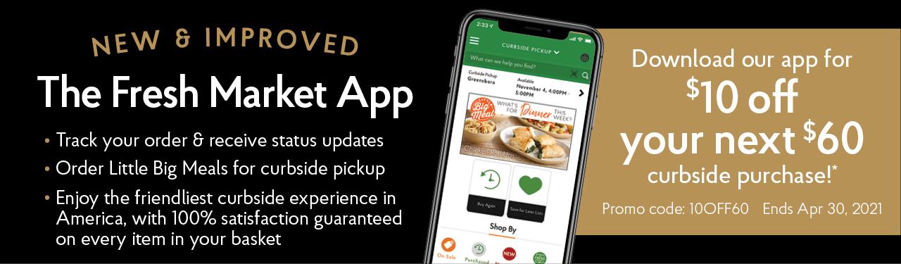 The Fresh Market App