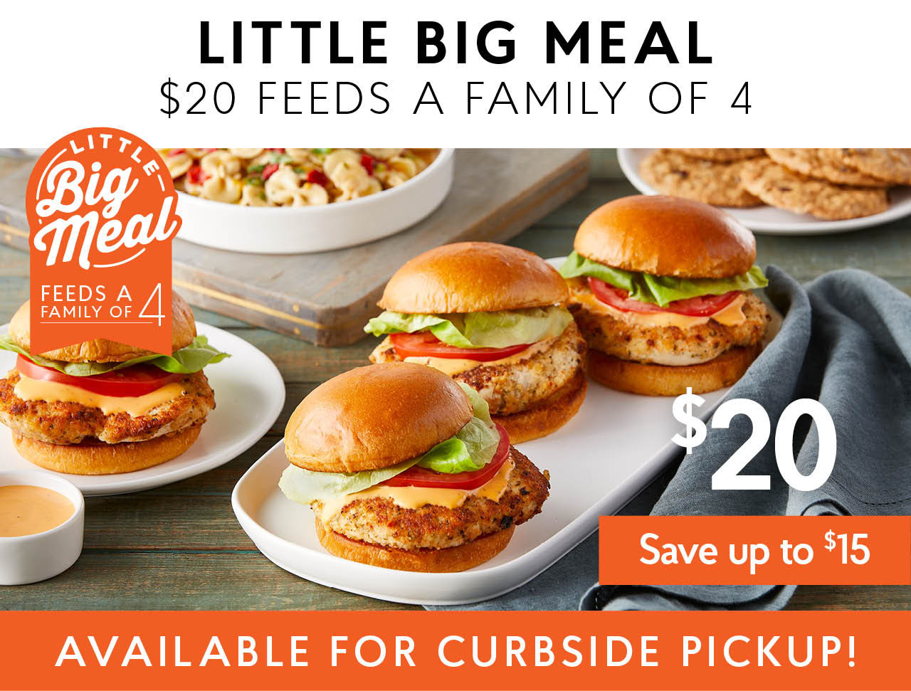 Little Big Meal: Crab Cake or Chicken Sandwiches